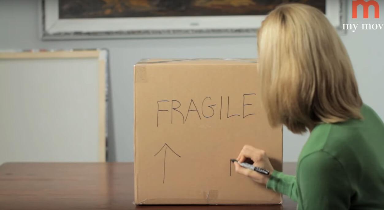 Kutunun Üzerine Kırılacak Eşya Yazıyoruz